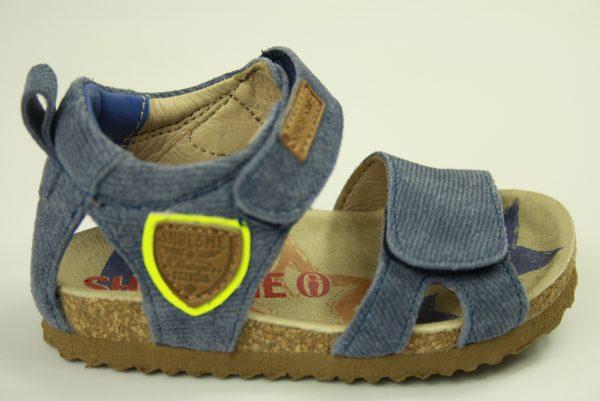 e40ccde86de Shoesme bio sandaal jongens jeans klittenband sluiting. Nieuwe collectie
